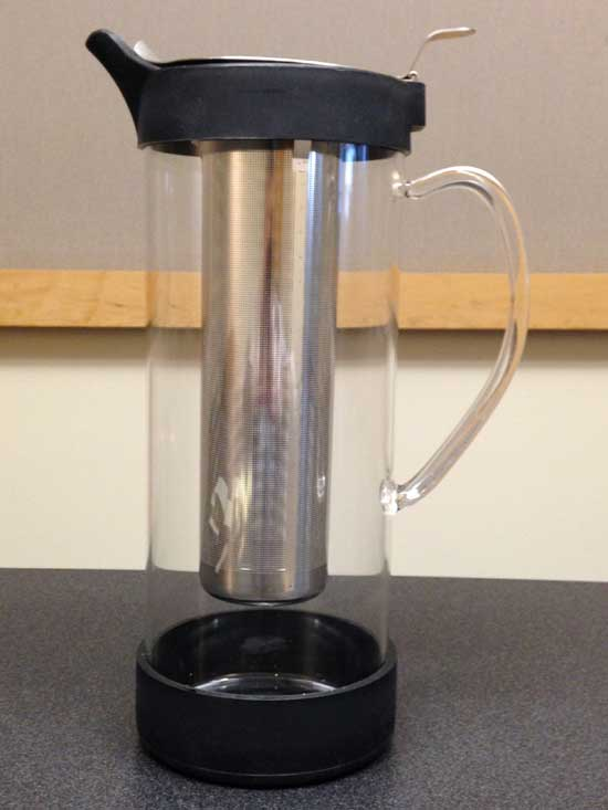 Recalled Tristan glass pitcher