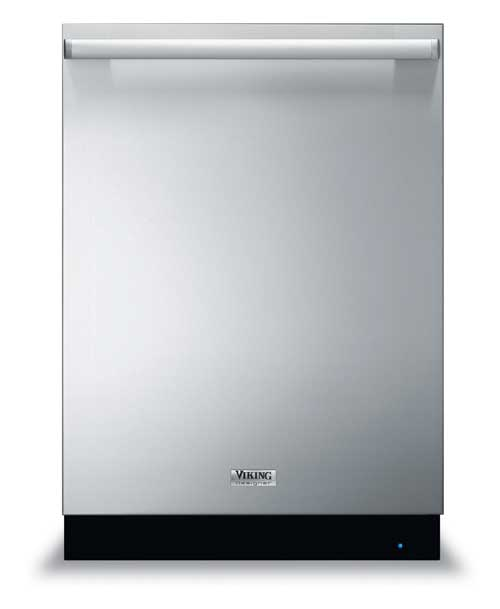 Viking Range Designer Series dishwasher, stainless steel