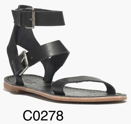 Sightseer Buckle Gladiator Sandal