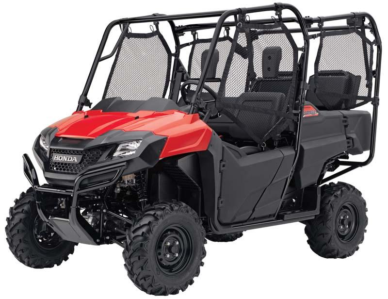 2014 Honda Pioneer 700 recreational off-highway vehicle (ROV)