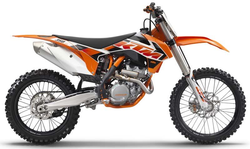 2015 KTM brand Enduro off-road motorcycles