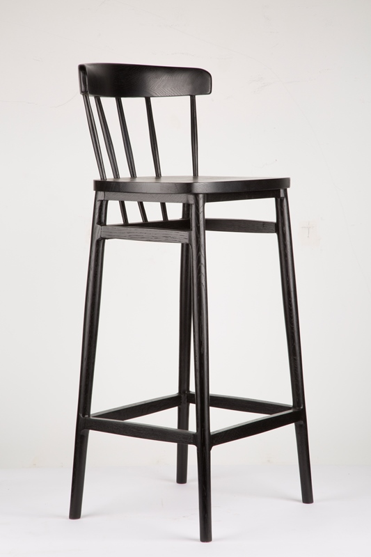 Windsor Shaker Stool (Black)