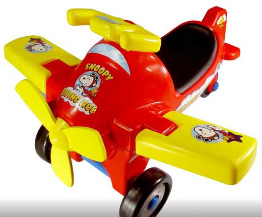 LaRose Industries Recalls Peanuts Flying Ace Ride-On Toys Due to Choking Hazard; Sold Exclusively at Target