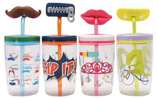 Ignite Kids Straw Tumblers