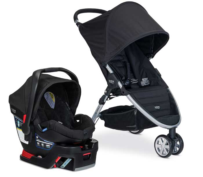Britax B-Agile/B-Safe 35 and B-Safe 35 Elite Travel Systems
