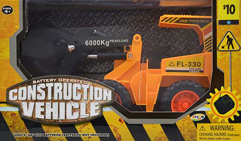 Dollar General Recalls Construction Truck Toy Vehicles Due to Fire and Burn Hazards