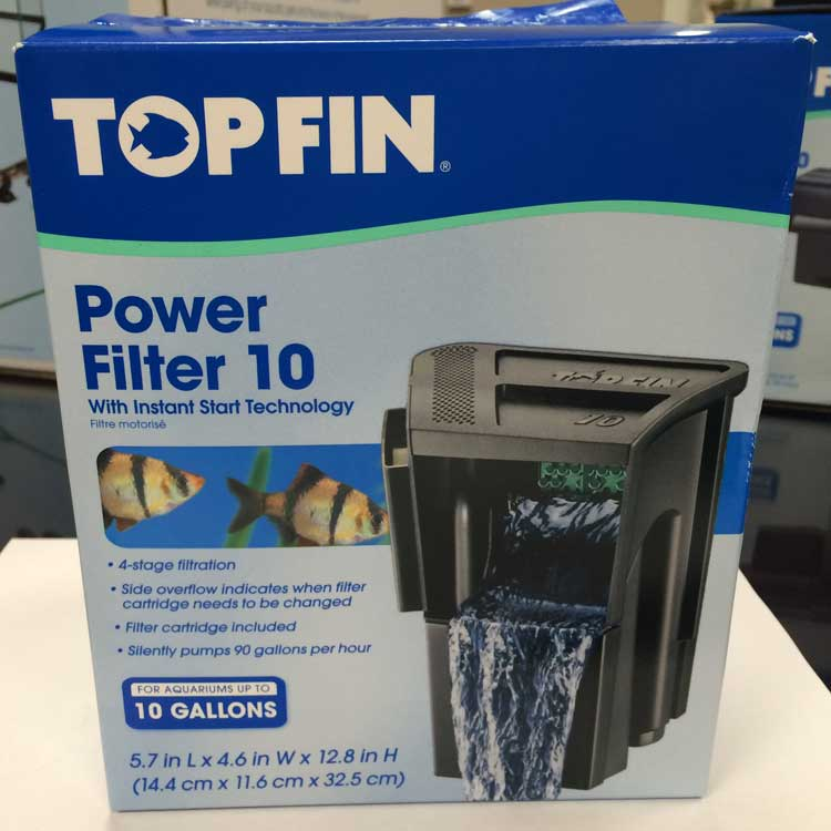 United pet group recalls top fin power filters for for Best 10 gallon fish tank filter
