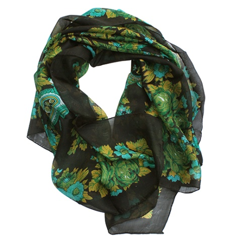Summer Scarves for Women and Teen Girls – Infinity Trendy Silk Scarves