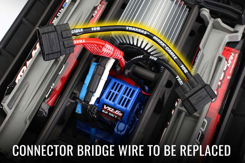 Connection Bridge Wire To Be Replaced