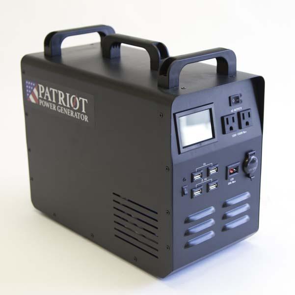 1,500 Watt Patriot Power Generator