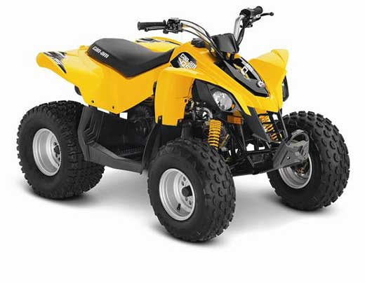 Recalled Can-Am DS 90 model