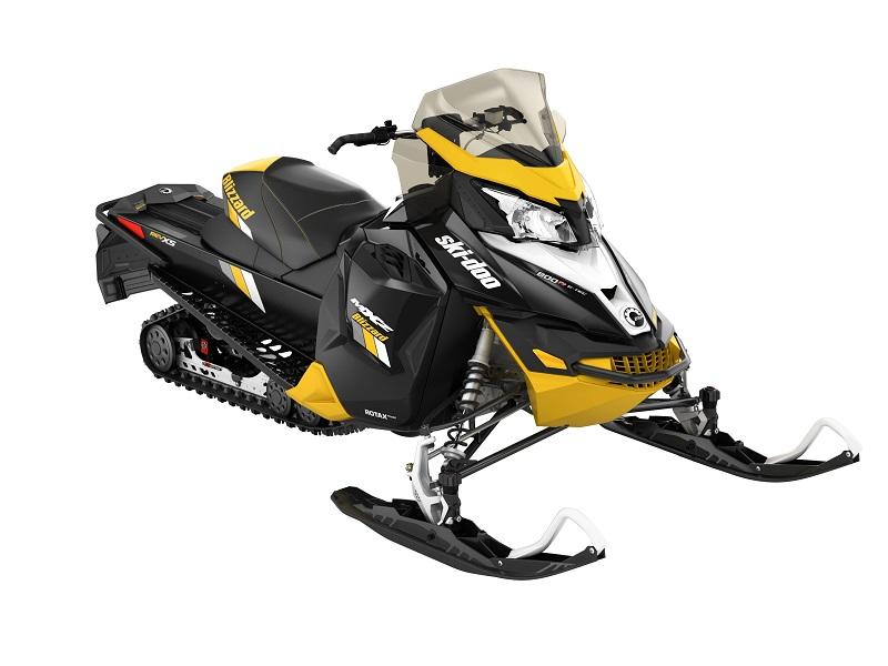 2016 MXZ BLIZZARD 800R (Black/Yellow)
