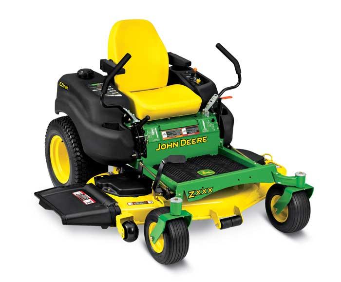John Deere zero-turn lawn mower