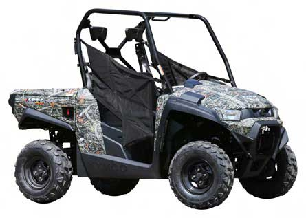 KYMCO utility vehicle model UXV 450i (camouflage)