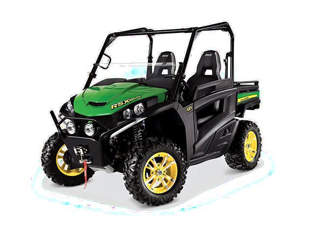 Recalled John Deere High-Performance Gator RSX860i utility vehicle