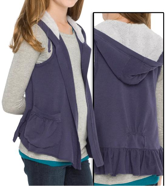 Picture of recalled hooded vest set