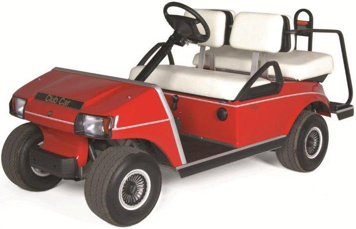 Recalled golf cart