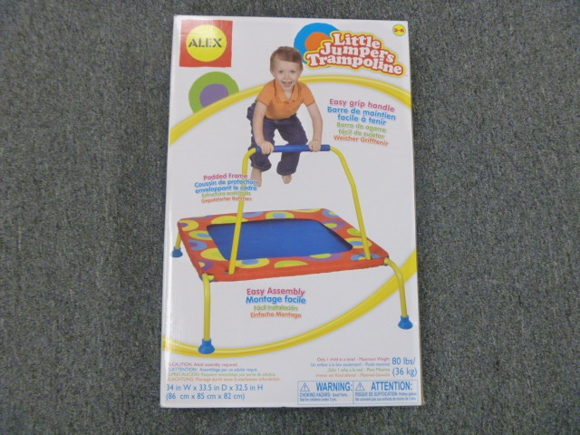 Picture of recalled trampoline