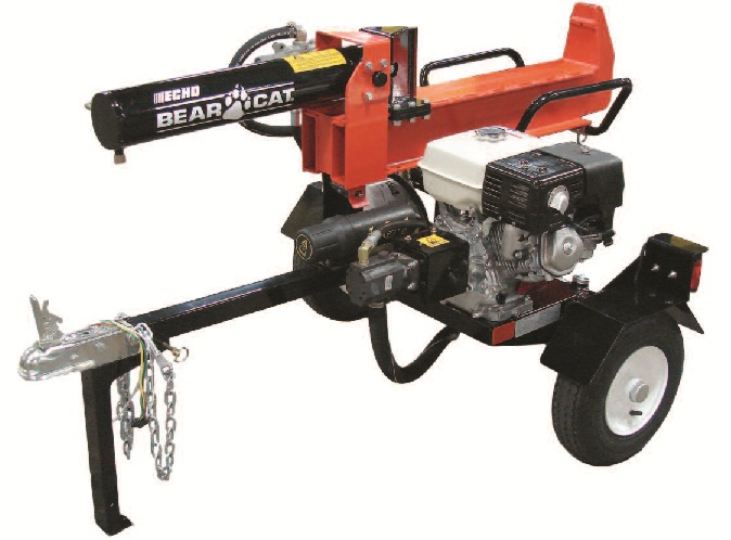 Recalled log splitter