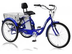 Picture of recalled adult tricycle model IZ-TRICR7-BL or IZ-TRY8-BL