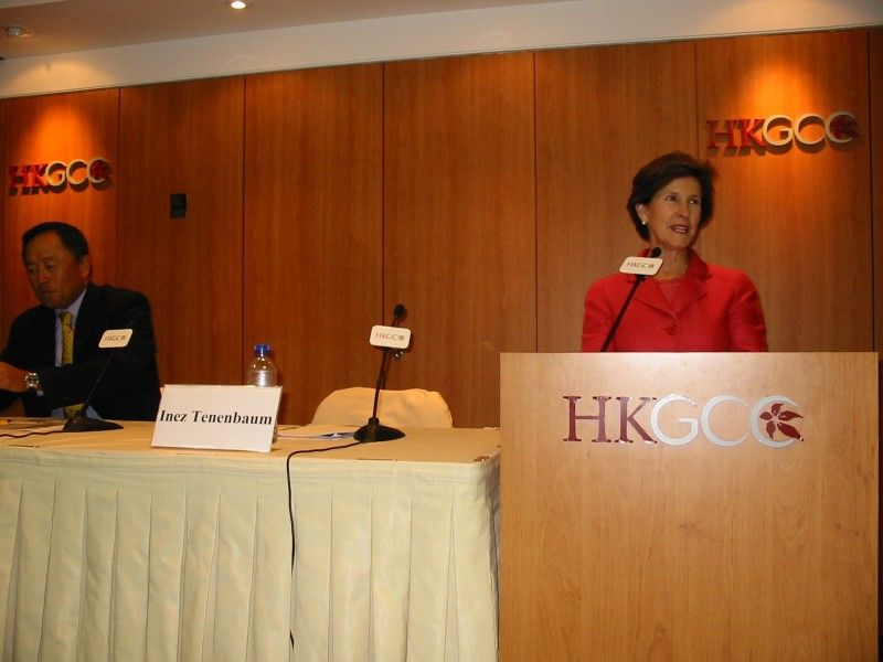 Picture of Chairman Tenenbaum at the HKGCC
