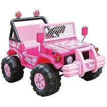 Picture of recalled Pink Range Rider Ride-on Toy Car