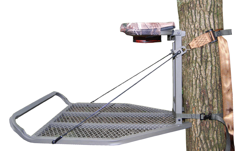 Picture of recalled treestand Ledge, side view
