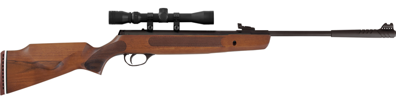 Recalled Striker air rifle - Brown Hardwood