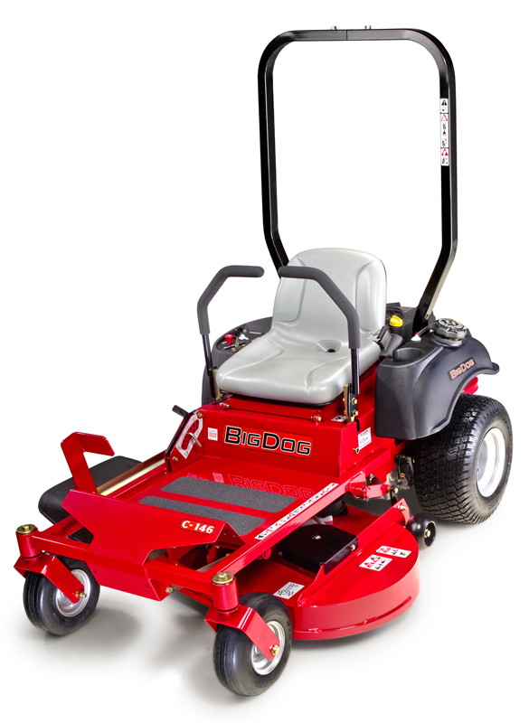 Picture of recalled BigDog C Series lawnmower