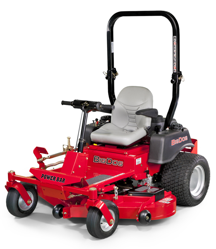 Picture of recalled BigDog R PowerBar lawnmower