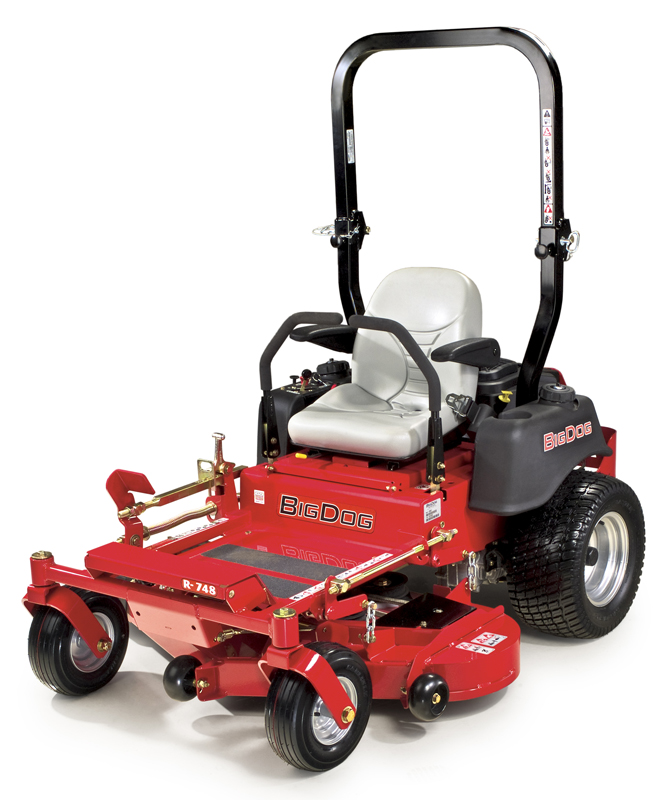 Picture of recalled BigDog R Series lawnmower