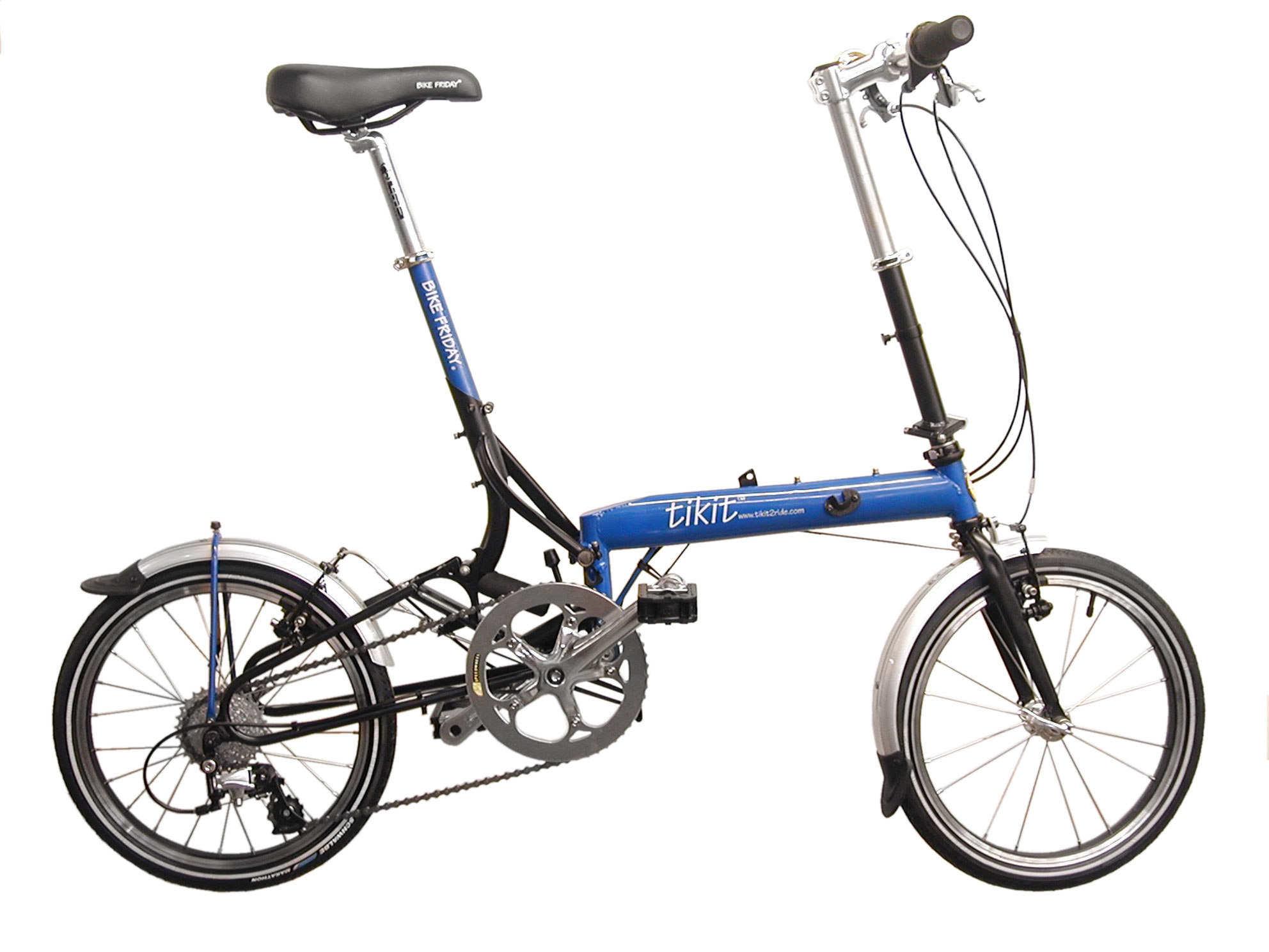 Bike Friday Recalls Tikit Folding Bicycles Due To Fall