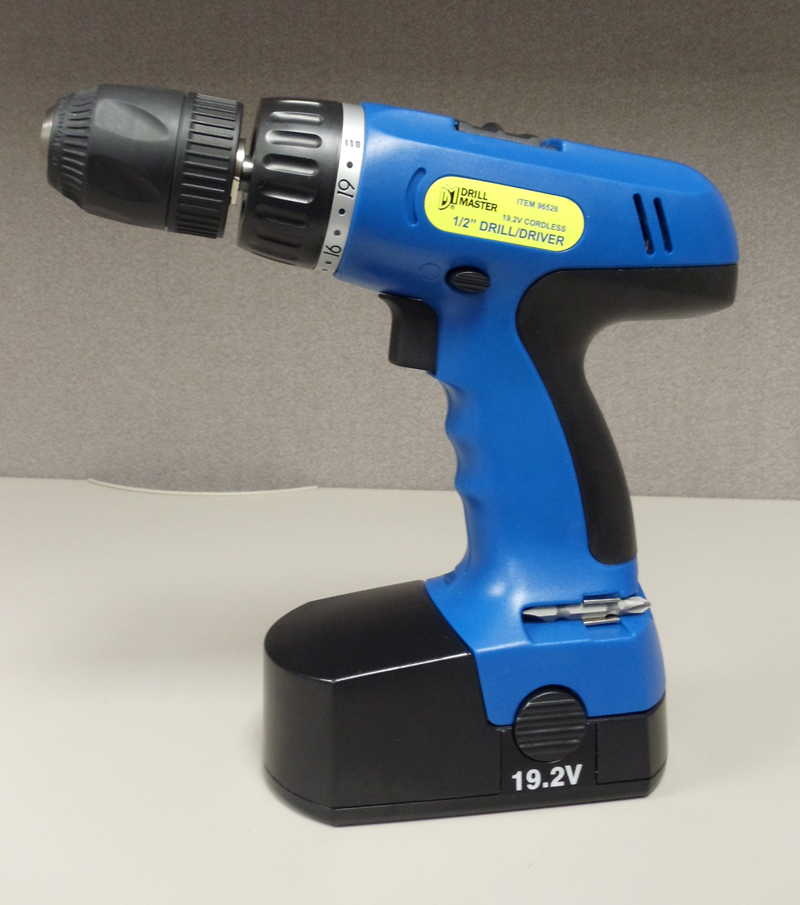 Freight Tools Recalls Cordless Drill Due to Fire and Burn Hazard