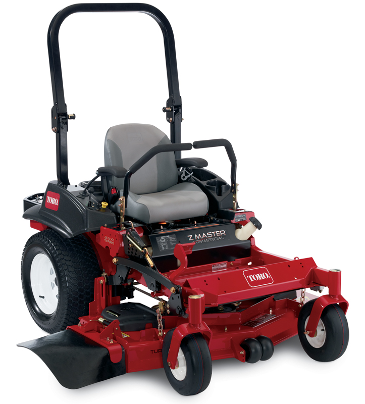 2012 Toro Z Master Commercial 2000 Series ZRT riding mower, model 74143