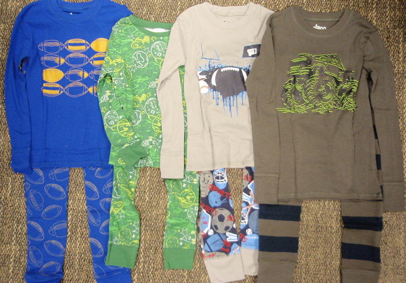 Recalled Target children's two-piece pajama sets