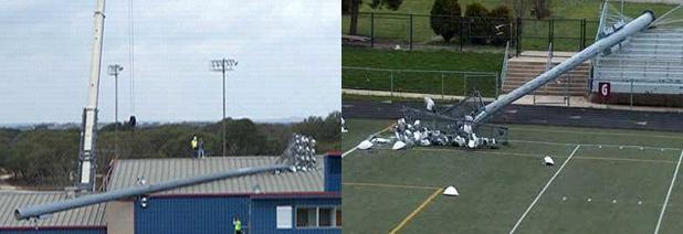 CPSC Alert: Whitco Co. LP Stadium Light Poles Can Fall Over, Posing Risk of Serious Injury and Deathb