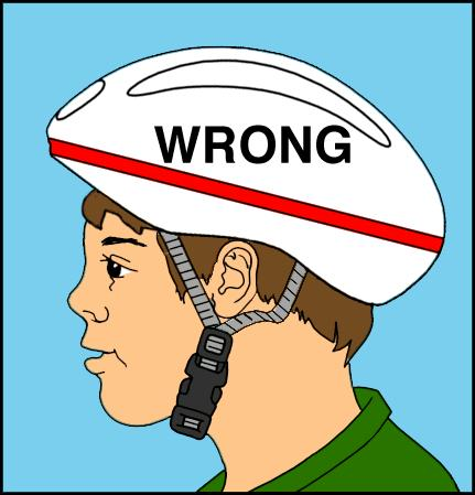 Bike Helmet Law Helmet Wrong