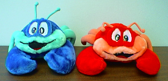 Crab Stuffed Animals