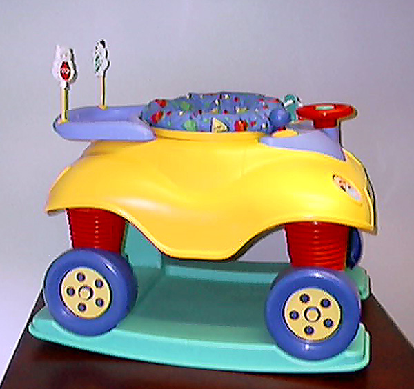 Side View of Bouncing Buggy