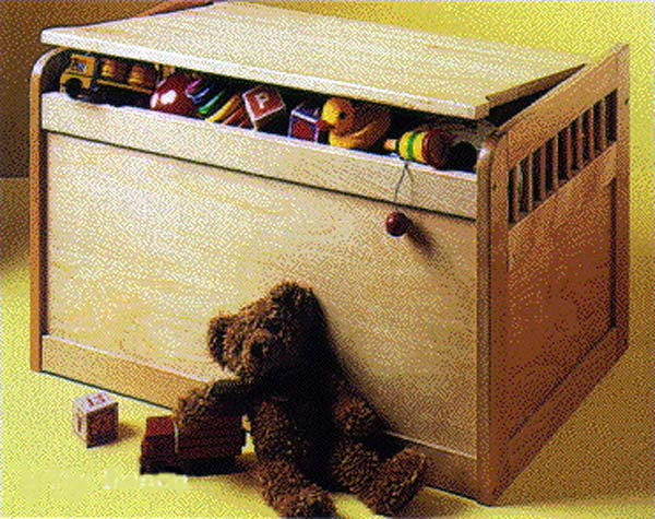 Toy Chest by Crate and Barrel