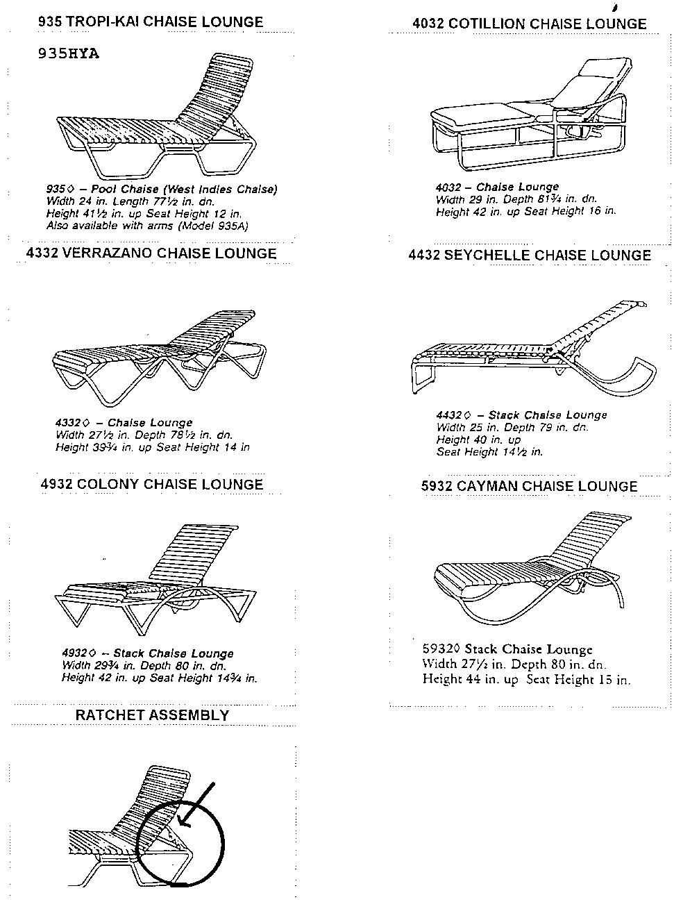 CPSC and Tropitone Announce Recall of Chaise Lounge Chairs | CPSC.