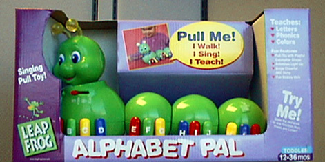 Picture of Alphabet Pal Pull Toy