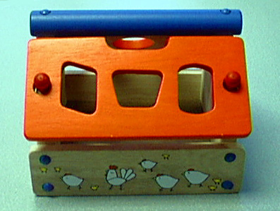 Miffy Wooden Shape Sorter