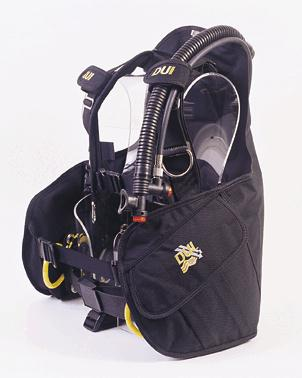 Picture of jacket style buoyancy control system containing recalled valve