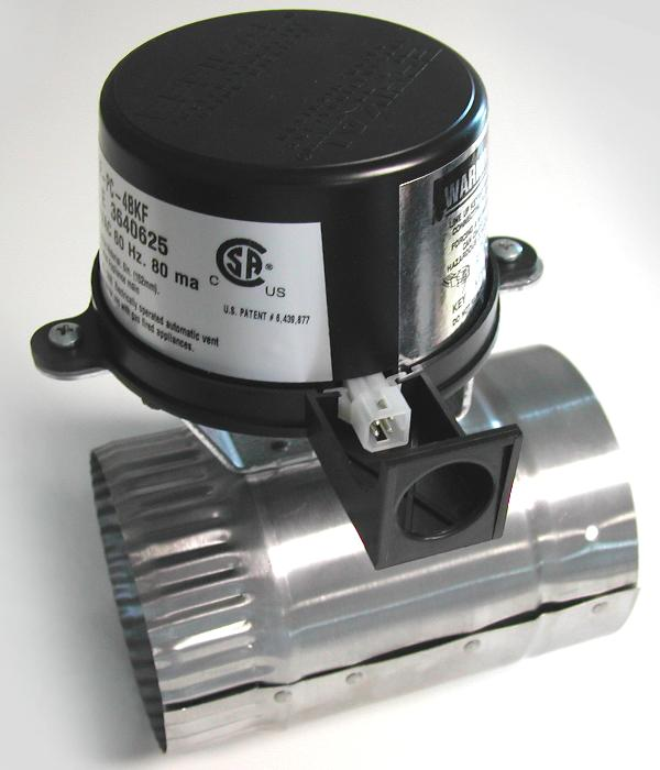 Picture of Recalled Effikal Automatic Gas Vent Damper