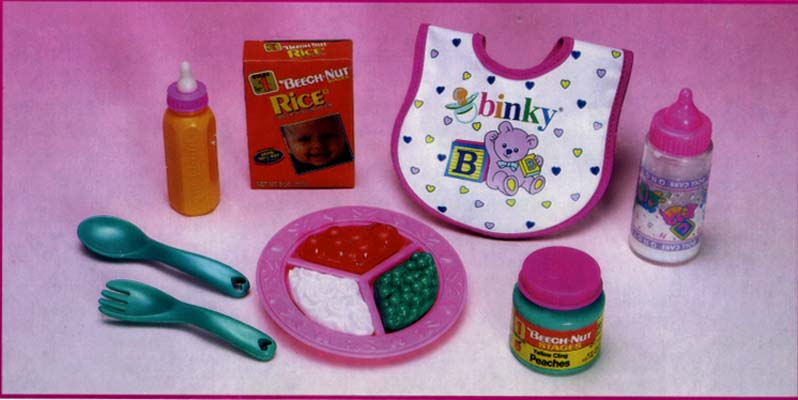 Magic Doll Feeding Set