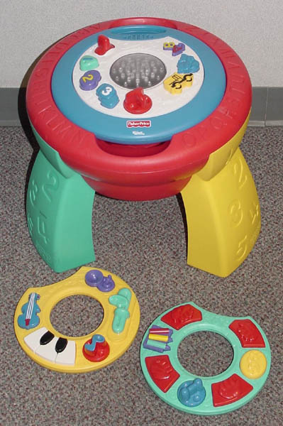 Picture of Recalled Intelli-Table Toy