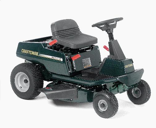 Picture of Recalled Rear-Engine Riding Mower