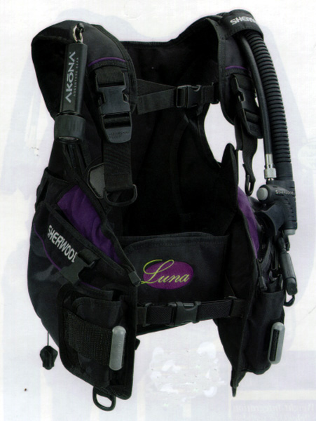 Picture of Recalled Scuba Buoyancy Compensator Devices (BCDs)