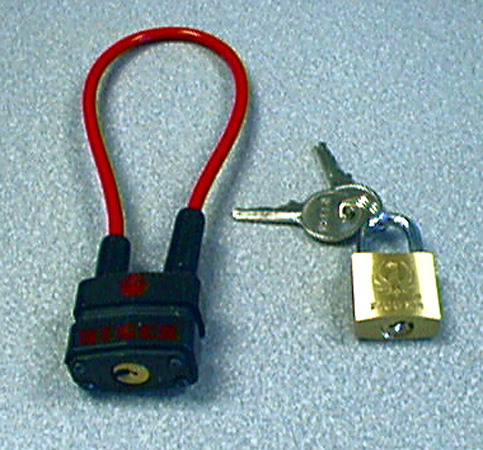 Picture of Recalled Padlocks and Cable Gun Locks